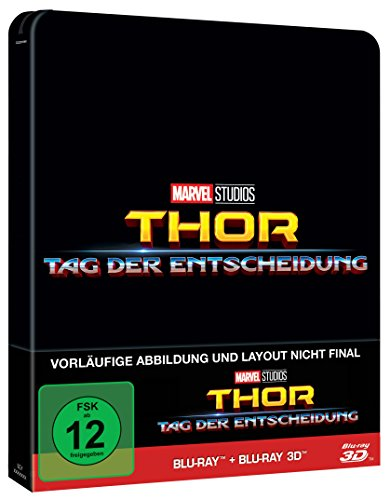 Thor: Tag der Entscheidung 3D + 2D Steelbook [Blu-ray] [Limited Edition]