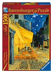 Ravensburger Van Gogh Cafe Terrace At Night Jigsaw Puzzle (1500 Pieces)