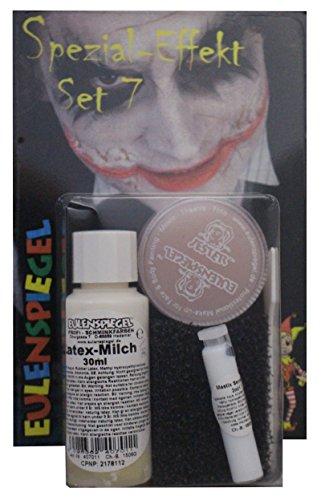 Halloween Spezial Effekte - Eulenspiegel Spezial Effekt Set 7 Halloween