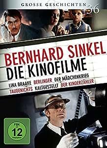Bernhard Sinkel - Die Kinofilme: Lina Braake, Berlinger, Der Mädchenkrieg, Taugenichts, Kaltgestellt, Der Kinoerzähler GG 36 [6 DVDs]