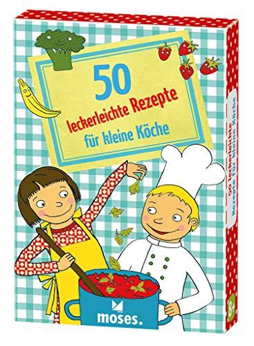 moses. 50 leckerleichte Rezepte für kleine Köche | Kinderbeschäftigung | Kartenset