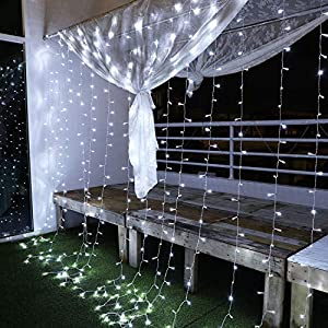 Yinuo Mirror Luces Navidad Led,