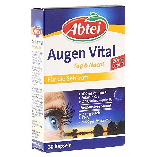 Abtei Augen Vital Tag & Nacht Kapseln, 30 St