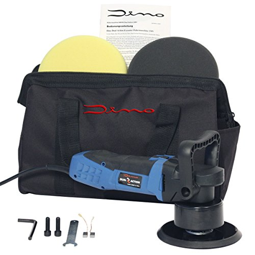 *Dino 640200 Dual Action Exzenter Poliermaschine Set*