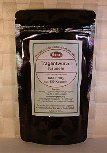 Tragantwurzel Kapseln 90g ca.180 Kapseln a´500mg - Chinesischen Astragalus-wurzel-extrakt