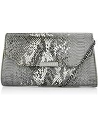 Caprese Women's Sling Bag (Metallic Grey)