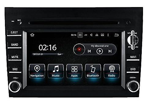 Porsche Cayman Carrera Boxter 911 997 Bose Fibre MOST Autoradio Touchscreen Android Naviceiver CD DVD USB SD WIFI 3D GPS Navigation TV Bluetooth