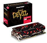 PowerColor AXRX580 8GBD5-3DHG/OC Grafikkarte, 8GB Speicher grau