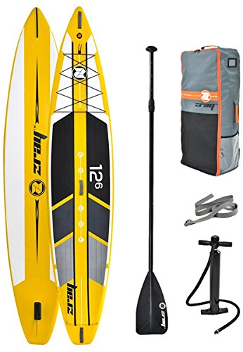 Zray R1, Stand Up Paddle Unisex Adulto, Giallo e Nero, Unica
