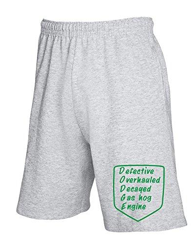 Cotton Island - Pantalone Tuta Corto FUN1238 dodge defective diecut decal sticker 29207 Grigio