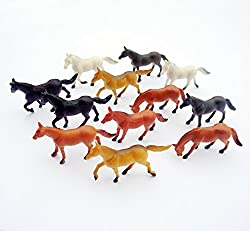 Horse Animals Toy Figure (12 Count)