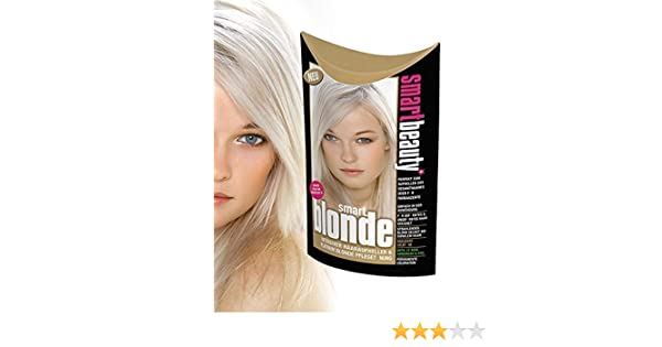 Smart Beauty Blonde Blondierung Haarfarbe platinblond: Amazon.de: Beauty