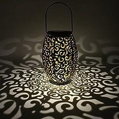 für außen, Tomshine Dekorative Solarlampe