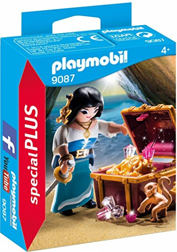 Playmobil Especiales Plus - Pirata con Tesoro (9087)