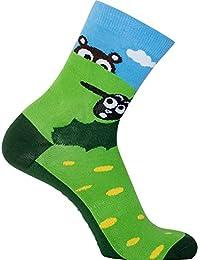 ooohSheep grün blau Sionyx Socken für Sport und Freizeit Fahrrad Bike Schaf