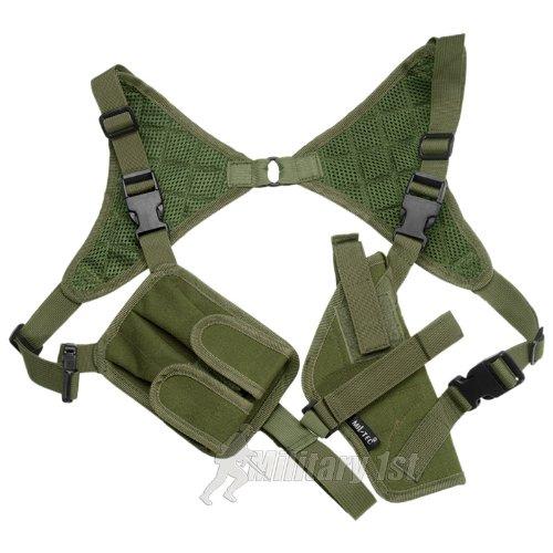 Mil-Tec - Pistolera de hombro verde verde oliva Talla:Einheitsgröße