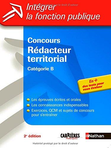 Concours Rédacteur territorial : Catégorie B par Pascal Tuccinardi, Catherine Debilly, Léonard Mango, Adeline Munier, Patricia Pioz