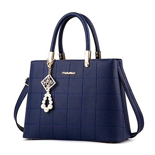 Atmosphärische Mode Handtaschen Umhängetasche dunkelblau