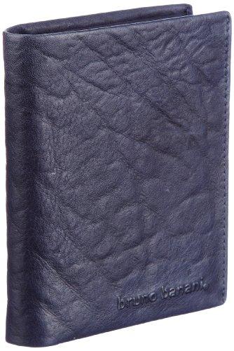 Bruno Banani Crunch_3 W 320.868, Unisex - Erwachsene Portemonnaies, 10x12x2 cm (B x H x T) Blau (Blue)