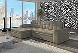 Couch Couchgarnitur Sofa Polsterecke CF19 Ottomane links, Berlin 01 (die Ottomane kann schriftlich kostenlos auf die andere Seite geändert werden) Wohnlandschaft Schlaffunktion Wohnzimmer Kinderzimmer Gästezimmer