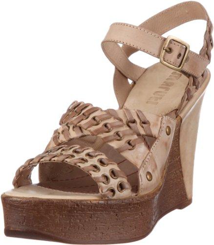 Maruti Rimini Leather 66.30170.2020, Sandali donna, Marrone (Braun (Natural Taupe)), 40