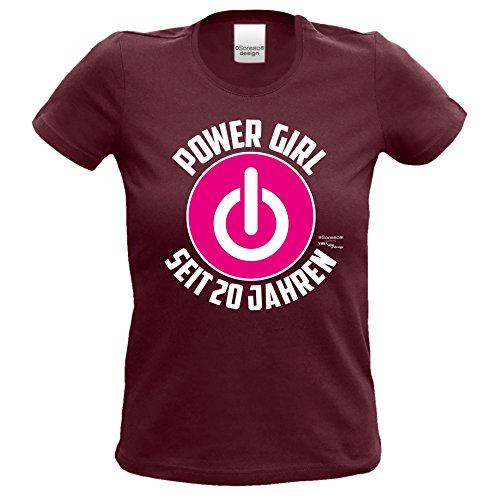 Damen Girlie T Shirt Geschenk Zum 20 Geburtstag Für Frauen : : Lustige  Geschenkidee