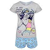 DC Comics Wonder Woman Batgirl Regalo Oficial Mujer Sistema De Sueño Pijama Corto - algodón, Gris, 100% algodón, mujer, 12-14