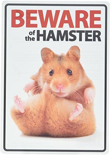 Beware of the Hamster A5Schild