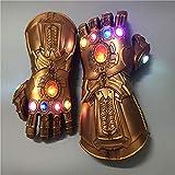 YK Thanos Latex Mask Halloween Cosplay Avengers: Endgame Costume Movie Character Cos Marvel (Child)