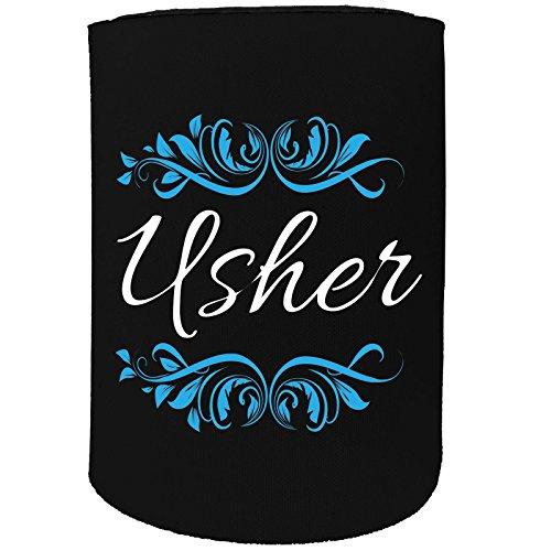 123t Stubby-Halter - stubbie Holders Cooler Usher Hochzeit Heirat - Lustiges Geburtstagsgeschenk Witz Bierdose Flasche Koozie Coozie Geschenk (Eine Usher Hochzeit In)