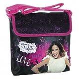 Disney Violetta Music Love Umhängetasche Schultertasche Mädchen Kindergarten Tasche schw/pink DER