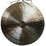 Klangschalen-Center GmbH Feng Gong, Wind Gong aus China 100 cm, toller Klang, inklusiv Holz- Baumwollklöppel - 7009
