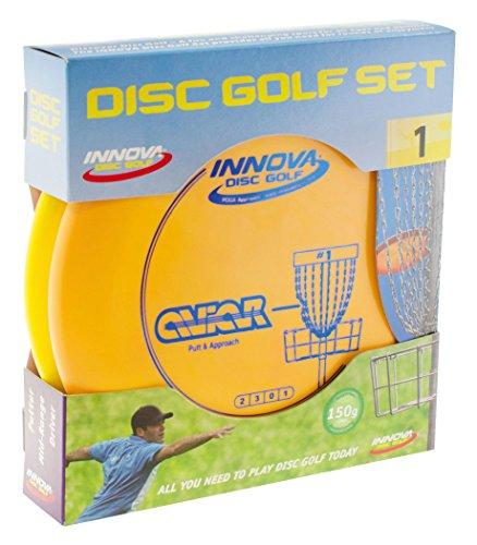 Wurfscheiben-Set (Frisbee-golf-set)