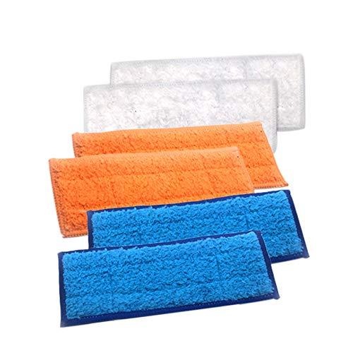 Gracorgzjs Wischtuch , Bodenbürste Wet/Dry Wischtuch Teile für iRobot Braava Jet 240 241 6st - Ersatz-bodenbürste