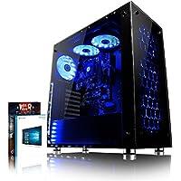 VIBOX Nebula GL780T-27 Gaming PC Ordenador de sobremesa con Cupón de juego, Win 10 (4,5GHz Intel i7 Quad-Core Procesador, Nvidia GeForce GTX 1080 Ti Tarjeta Grafica, 16GB DDR4 RAM, 240GB SSD, 1TB HDD)