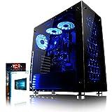 VIBOX Aries 18 - Ordenador de sobremesa (Intel Core i7-4790K, 32 GB de RAM,  Disco hibrido de 3 TB +...