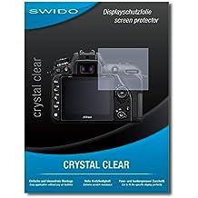 """4 x SWIDO® Pellicola Protettiva Nikon D7500 Screen Protector Pellicola Protettiva Film """"CrystalClear"""" invisibile"""