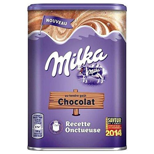 Milka Kakao Schokolade zum Auflösen in warmer oder kalter Milch