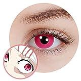 Pink rosa farbige Kontaktlinsen für Tokyo Ghoul Juuzou Suzuya JUZO Cosplay Anime Manga 12 Monate Effektlinsen Color Contact Circle Lenses