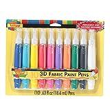 I Love To Create Beige Tessuto 3d pittura penne 10/Pkg-Assorted, altri