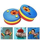 DesignerBox Kinder Arm Float Discs, Schwimmen Arm Marke Set Schwimmflügel Trainingsgerät für Pool (6PCS/Set), 6 pcs/Set