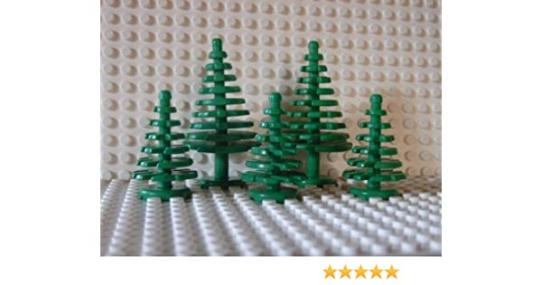 Lego Large Pine Trees X2 GREEN Pre-owned excellent condition