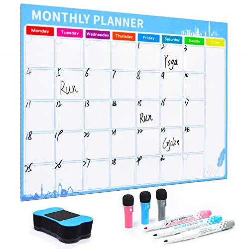 1 Juego Magnético Planificador Mensual Calendario
