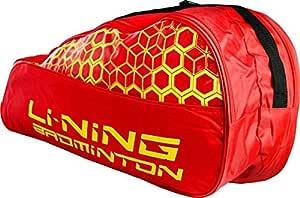 Li-Ning Textured Badminton KitBag (Red)