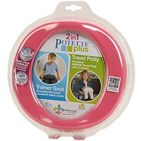 Potette PLUS bebé Potty noche para los niños, Rosa (Rosa)