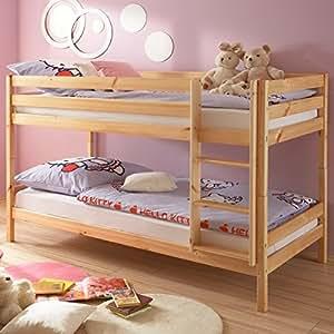 Avanti trendstore anke letto a castello in legno di pino massiccio scomponibile anche in 2 - Befara letto a castello ...