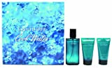 Davidoff Cool Water Geschenkset homme / men, Eau de Toilette Vaporisateur / Spray 75 ml, Duschgel 50 ml, Aftershave Balm 50 ml, 1er Pack
