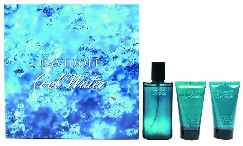 Davidoff Davidoff cool water geschenkset homme men eau de toilette vaporisateur spray 75 ml duschgel 50 ml aftershave balm 50 ml 1er pack