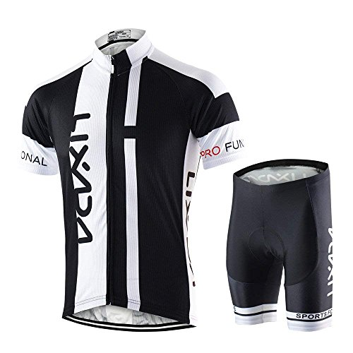 Lixada Maillots Ciclismo Hombres Camiseta Pantalones