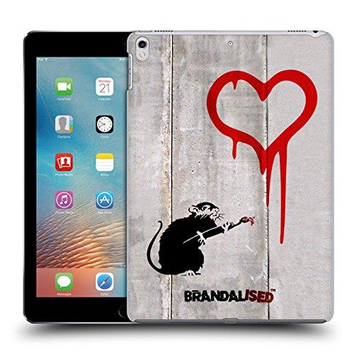 Offizielle Brandalised Liebe Ratte Banksy Kunst Street Tag Ruckseite Hülle für Apple iPad Pro 10.5 (2017) (Ratten Liebe)